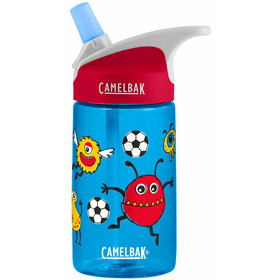 CamelBak Eddy Bidon 400ml Enfant, soccer monsters